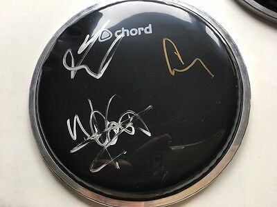 "TAKE THAT - multi signed 6"" drumskin GARY BARLOW, MARK OWEN, HOWARD DONALD"