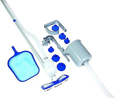 Deluxe Pool Maintenance Kit Cleaning Skimmer Filter Pump Swimming Hot Tub Vacuum