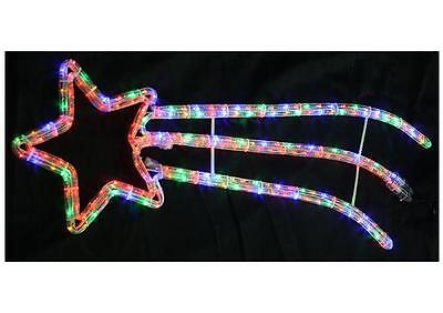 90cm LED Shooting Star Rope Light Xmas Lights Indoor Outdoor Christmas Decoratio