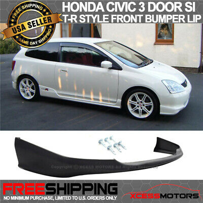 Fits 02-05 Honda Civic 3dr EP3 TR Style Rear Bumper Lip Urethane