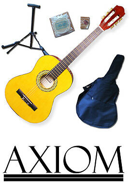 Axiom Childrens Guitar Pack - 3/4 Size Starter Pack - AMBER