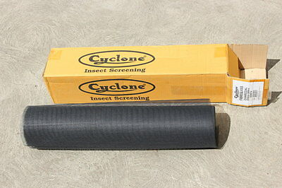 Fly Screen Netting Fibreglass 610mm 50mtr Roll Cyclone Charcoal Colour