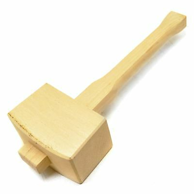 Wooden Mallet Hammer for Tent Pegs Chisels Woodworking Sil195 IRE