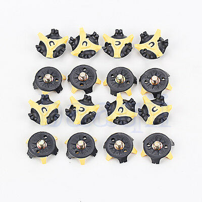 16 PCS Golf Shoe Spike Replacement Cleat Champ Fast Twist Screw Studs Stinger MA