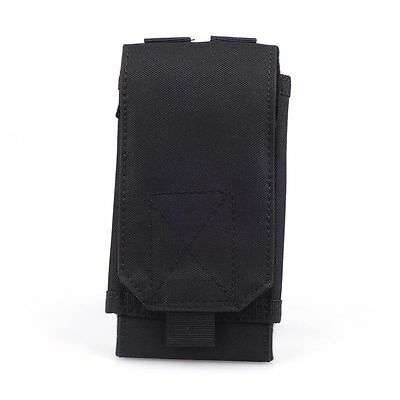 Durable Universal Black Tactical Outdoors Military Mobile Phone Bag Pouch Case