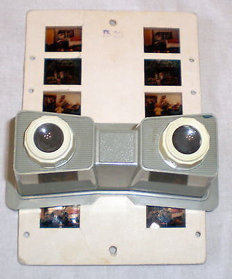 Vintage Russian Soviet Stereoscope Slide Viewer Stereo USSR Children Toy Bears