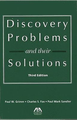 Discovery Problems And Their Solutions,PB,Charles S. Fax, Paul W. Grimm, Paul M