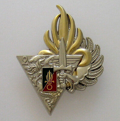 French Foreign Legion Etrangere Badge 2 Rep - Numbered - Para Ffl
