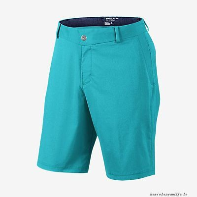 "Men's NIKE GOLF Modern Tech 10"" Woven Shorts - Size 32"" / Medium - Omega Blue"