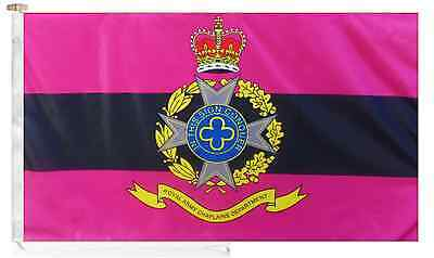British Army Royal Army Chaplains' Department Roped & Toggled 5' x 3'  Boat Flag