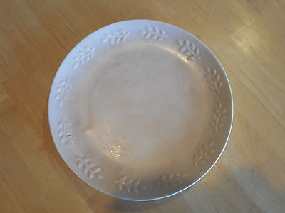 """Sonoma Life+Style SUMMER FIELDS Dinner Plate 11"""" Peach Embossed    4 available"""