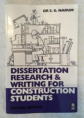 Dissertation research writing construction students 2nd edition