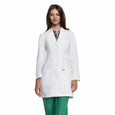 "Grey's Anatomy 4419 34"" Women's Lab Coat White"