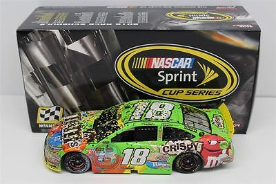 Kyle Busch #18 M&M's 2015 Homestead Raced Win 1/24 Scale NASCAR Cup Diecast