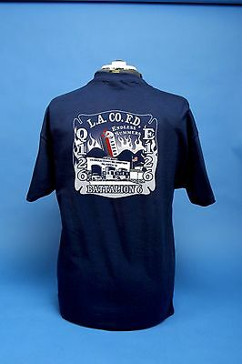 Los Angeles County Fire Department Station 126 Endless Summers T-Shirt Valencia.
