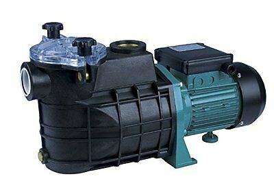1 Hp 750W Swimming Pool Pump with Filter Electric Pump Pool Quiet Running