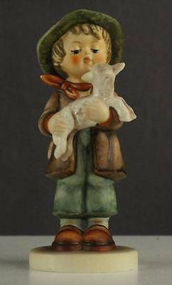 Vintage West Germany HUMMEL Goebel Figurine Boy & LOST LAMB 68/0 Trademark #6
