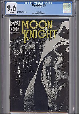 Moon Knight #23  CGC 9.6 1982 Marvel  Comic: NEW CGC Frame