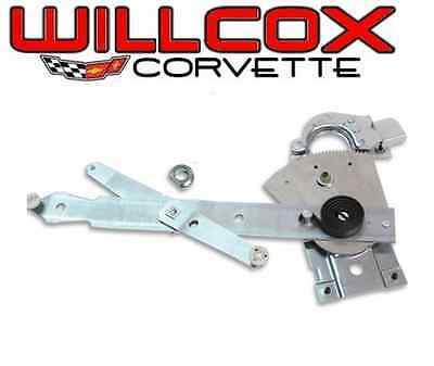 68-82 Corvette Lh Power Window Regulator Usa Made With Correct Rollers See Below