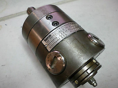 HENSE HYDRAULIC ROTARY ACTUATOR - MODEL HRS  100BAR 69Nm - HRSBD-7-N - 190degree