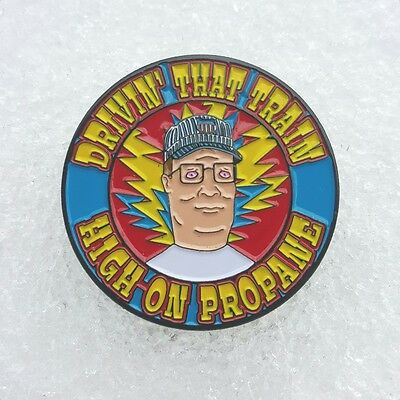 NEW Hank Hill Casey Jones pin -Grateful Dead Company Co king of the hill propane