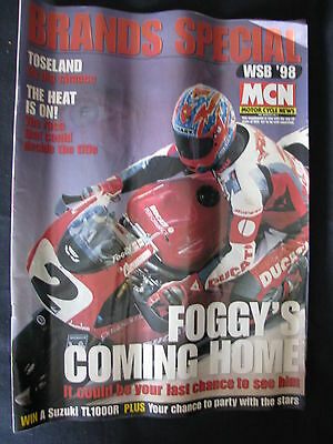 Magazine MCN Brands Special World Superbikes 1998 (Engels)