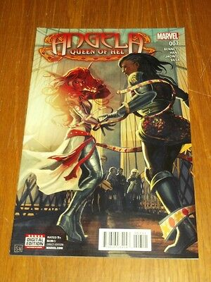 Angela Queen Of Hel #7 Marvel Comics June 2016 Nm (9.4)