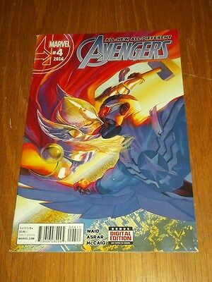 Avengers All-New All-Different #4 Marvel Comics Nm (9.4)