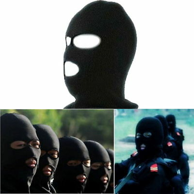 Balaclava Motorcycle Neck Winter Ski Full Face Mask Cover Hat Cap Black M2