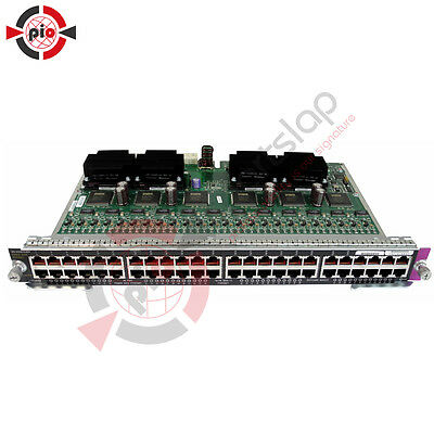 Cisco Catalyst 4500 Series 48-Port PoE Fast Ethernet Switch Modul WS-X4248-RJ45V