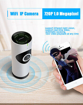 Panaromic View Home Security Camera WiFi Monitor For Smart phones Tablets