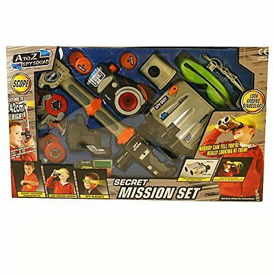 Kids Spy Squad Secret Mission Play Set Xmas Gift Game Children Fun