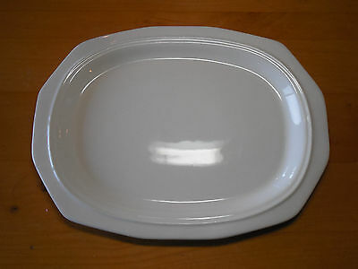 """Pfaltzgraff USA HERITAGE WHITE Oval Serving Platter 14"""" 1 each 4 available"""