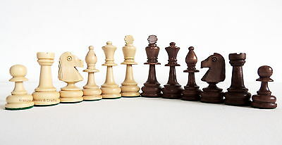 Brand New Tournament Number 4 Wieghted Chessmen Pieces
