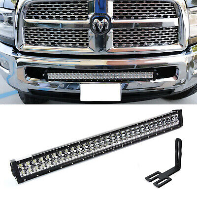 "03-18 Dodge Ram 2500//3500 Hidden Bumper 22/""inch Light Bar bracket+Remote Wiring"