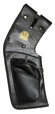 Full Leather Field Quiver Rh, Black