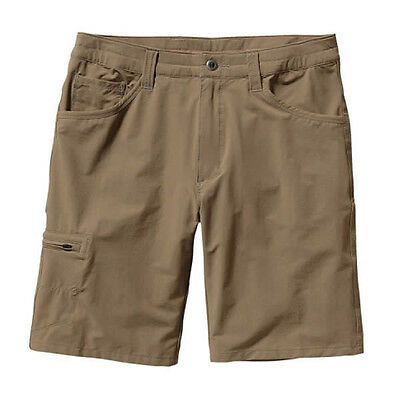 """Patagonia Men's Quandary Shorts - 10"""" lightweight hike and travel shorts"""