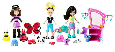 Polly Pocket Dress-Up Party Ultimate Doll Pack Collection   (X0106)