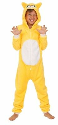 Unisex StampyLongNose Onesie 7-12 Years Stampy Cat All In One