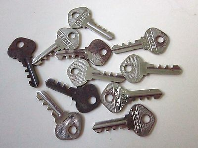 Antique Sears Keys- For Locks, Motors, etc. Lot of 11 -VINTAGE