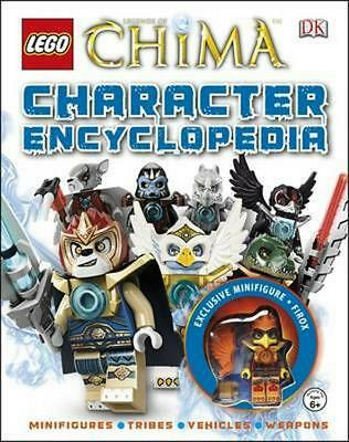 LEGO Legends of Chima Character Encyclopedia by Dk Hardcover Book