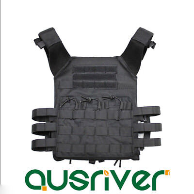 Light Military Tactical Vest Plate Carrier Paintball Molle Airsoft Combat SWAT