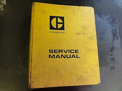 Caterpillar CAT 955L Track Type Loader Repair Service Manual