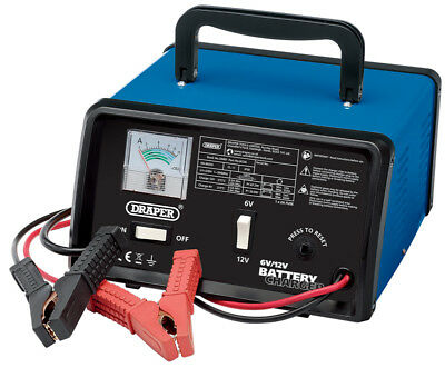 Bcd6 5.6 A Battery Charger 6/12 V Suitable For Conventional Batteries Up To 55Ah