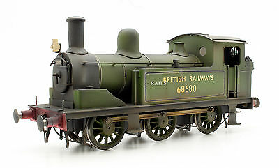 O Gauge Kit Built Class J72 Br Green 0-6-0 Tank Locomotive #68680 Weathered