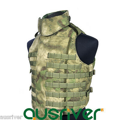 FLYYE Outer Tactical Vest Military Camail Wargame Paintball Airsoft Combat SWAT
