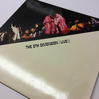 The 5th Dimension 'Live' Double Vinyl Gatefold LP in Very Good Condition