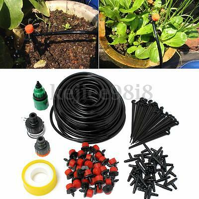8/10/18/25M Diy Micro Drip Irrigation Kit Watering System Automatic Plant Garden