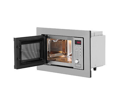 Iberna by Baumatic | Unbranded BYMM204SS Built-in Microwave in Stainless Steel