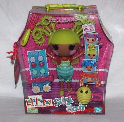 Lalaloopsy Silly Hair Pix E. Flutters Large Doll & Hair Accessories BNIB